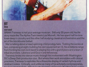BT - Ima..Album review 1995