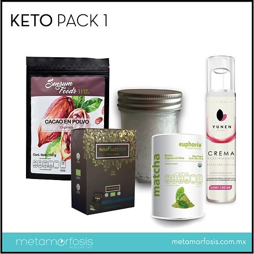 Keto pack 1 para dieta cetogénica – 5 productos