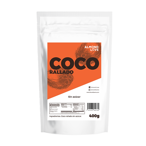 Coco rallado orgánico sin azúcar Almond Love