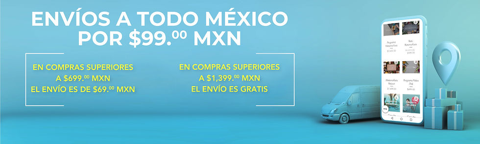 metamorfosis envios a todo mexico