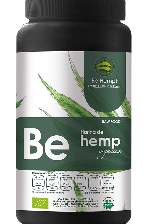 Harina de Hemp orgánica Be Hemp!