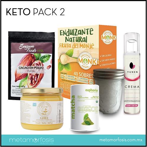 Keto pack 2 para dieta cetogénica – 6 productos
