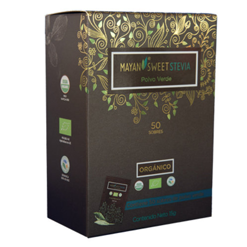 Hoja verde molida Mayan Sweet Stevia