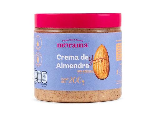 Crema de almendra sin azúcar Morama
