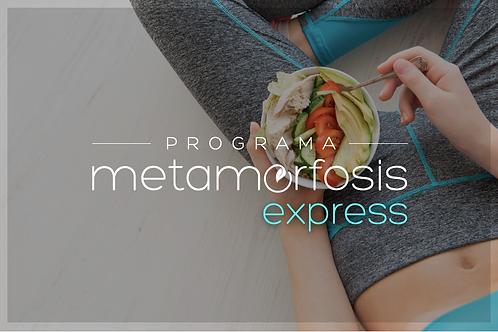 Programa nutricional: Metamorfosis EXPRESS