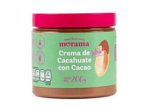 Crema de cacahuate con cacao Morama