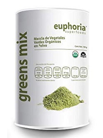 Greens Mix Orgánico en Polvo, 100g