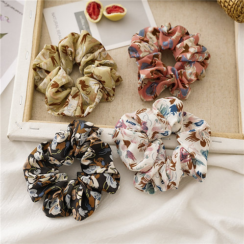 HS00211 (4 in ONE SET) HAIR SCRUNCHIES