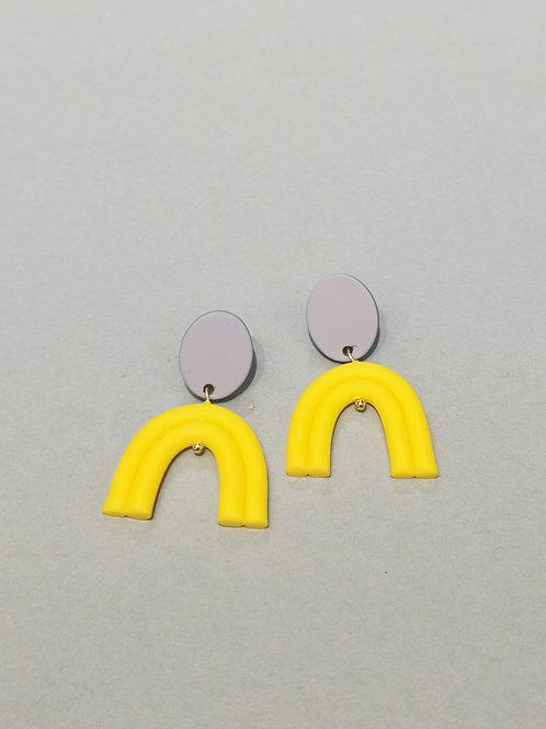 E01051 CLAY EARRINGS