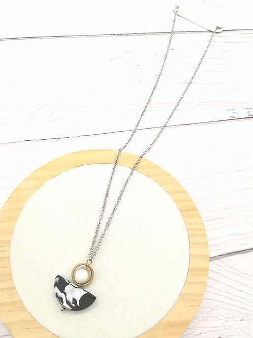 N00323 CLAY NECKLACE