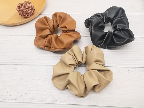 HS00226 HAIR LARGE SCRUNCHIES(2 in One Set)