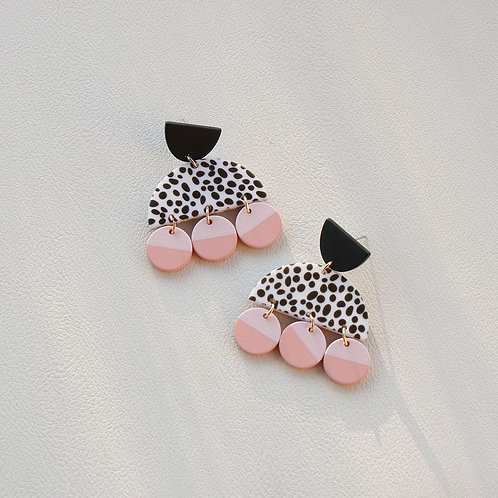 E01032 EARRINGS  4.8CM