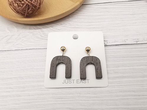 E01012 TIMBER EARRINGS