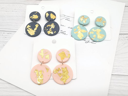 E00867 CLAY EARRINGS