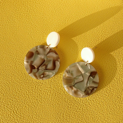 E01006 EARRINGS  5CM