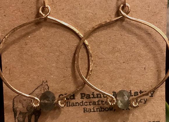 Gold and Labradorite