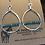 Thumbnail: Medium Turquoise Bar Earrings