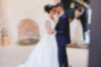 Couple de mariés dansant la valse/ ouverture de bal