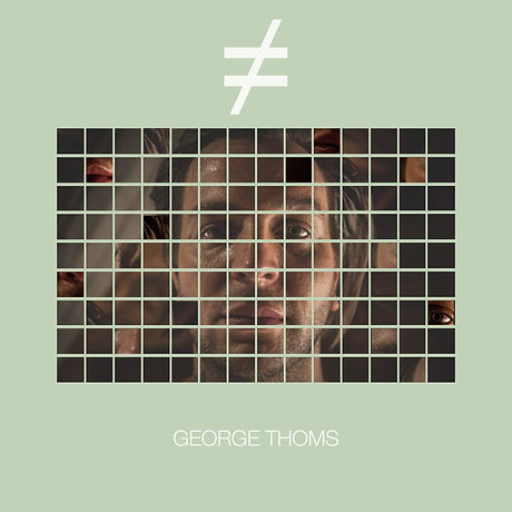 DJ GEORGE THOMS NOT EQUA LBUM COVER