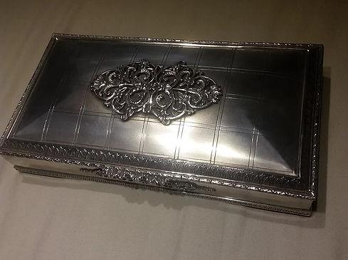 Antique Silver Cigar Box - Antiques Dealer in London, UK | Antiques Store UK