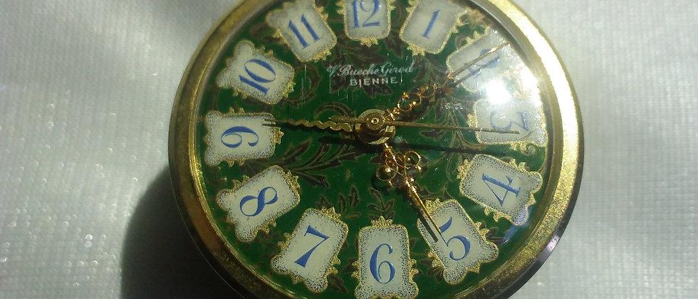 V. Bueche Girod Geneve Musical Travelling Clock