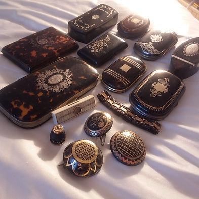 Antique Piqué Jewellery - Antiques Dealer in London, UK | Antiques Store UK