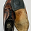 Thumbnail: Florsheim Imperial Quality US 9.5D (wide) UK 9 EU 42-43 Leather Shoes circa 1965