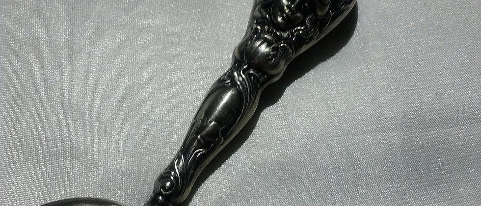 Art Nouveau Sterling Silver Baby Spoon Circa 1910