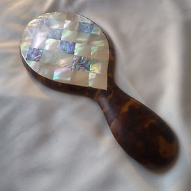 Tortoiseshell hand mirror - Antiques and Collectibles in London, UK