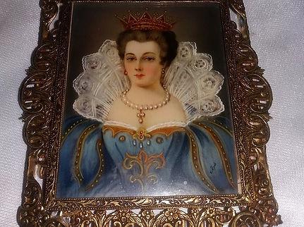 Portrait Miniature - Online Antique Store | House of piqué