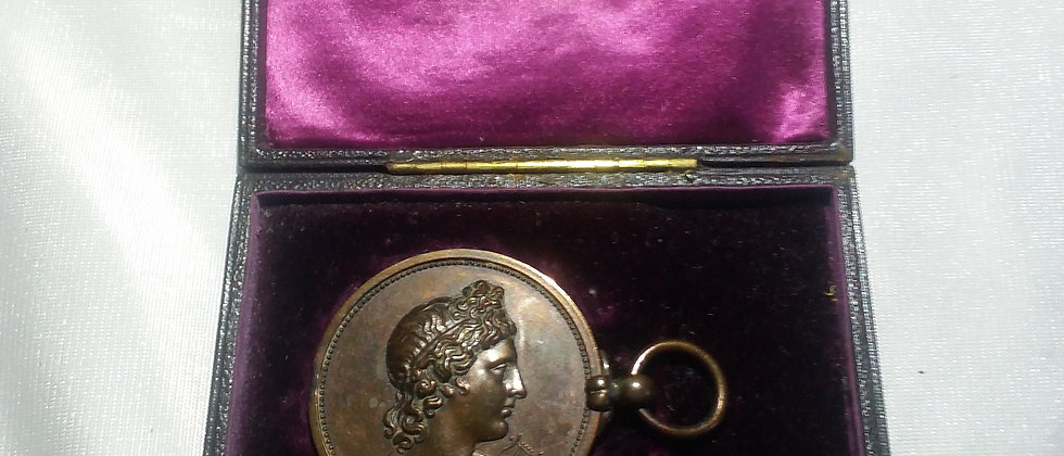 Royal Academy of Music Bronze Medal John Pinches 1901