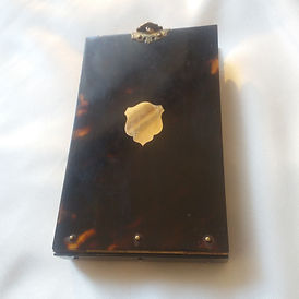 Antique Victorian Tortoiseshell Notepad - Antiques Dealer in London, UK | Antiques Store in London