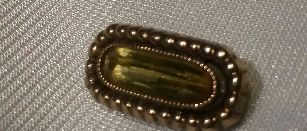 Georgian Gold and Citrine Sentimental Brooch circa 1830