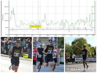 New Personal Best 21.1km – 1:18:51!!!