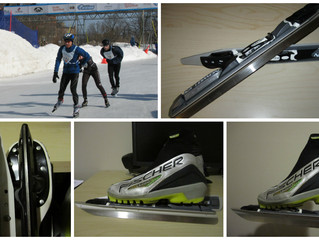 Skating for speed: Incredible Nordic Blades
