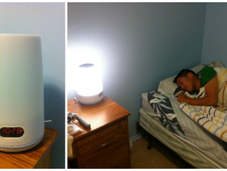 Wake up lights: Trying not to wake up like an ogre!