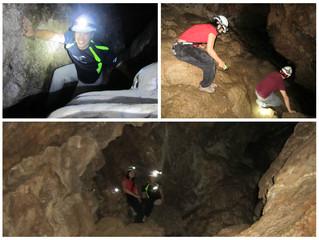Spelunking @Horne Lake Caves Provincial Park