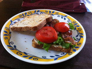 Can't beat a classic – After run BLTs