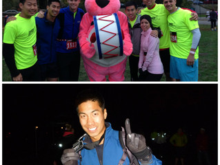 Racing in the Dark: Energizer Night Run