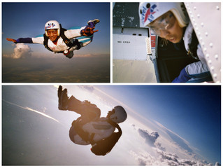 Jumping out of a perfectly good airplane: Skydiving