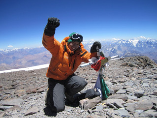 Reached the Summit of Aconcagua!!!