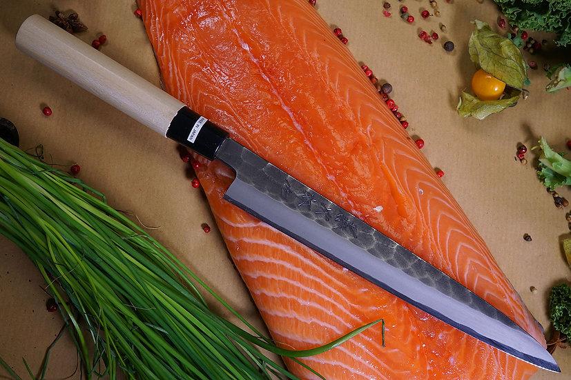 Tojiro Hammered Black Yanagi-Sashimi 21 cm (F-1080)