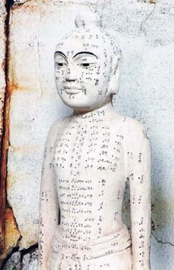 Muñeco de puntos antiguo