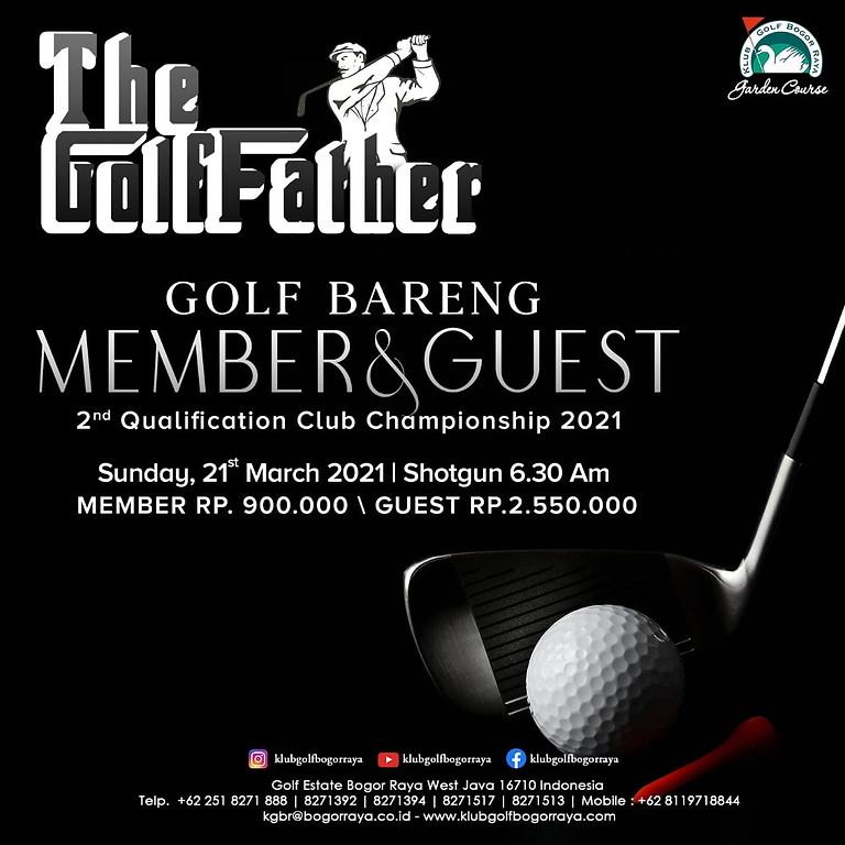 Member & Guest Tournament 2nd Qualification Club Champion 2021