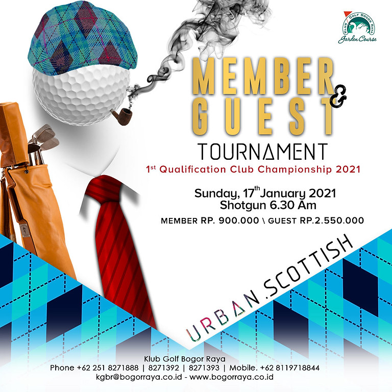 Member & Guest Tournament 1st Qualification Club Champion 2021