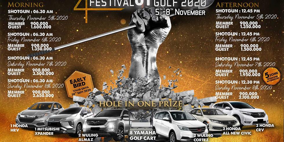 The 24th Festival Of Golf 5-8 November 2020