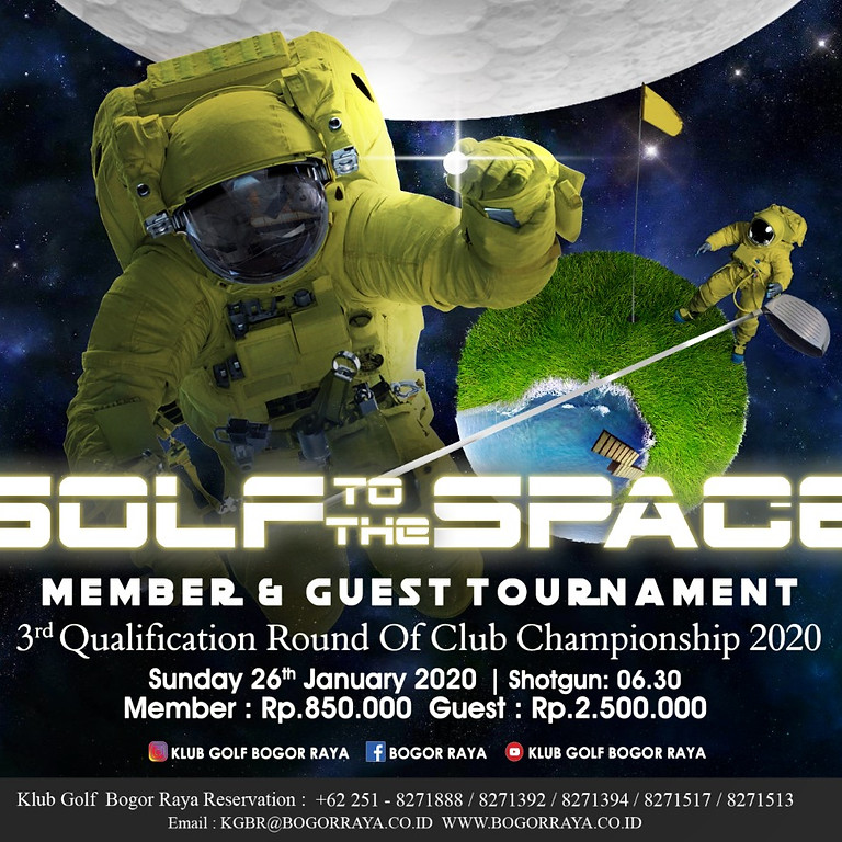 Members & Guest Tournament 3rd Qualification Club Champion 2020