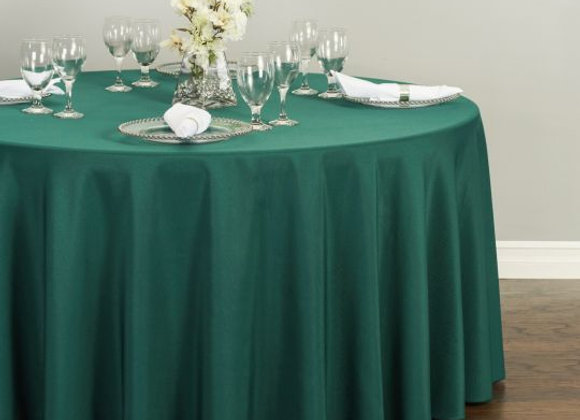 HUNTER GREEN POLYESTER TABLECLOTHS
