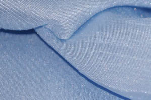 BABY BLUE SHANTUNG SATIN