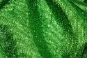 APPLE GREEN SHANTUNG SATIN